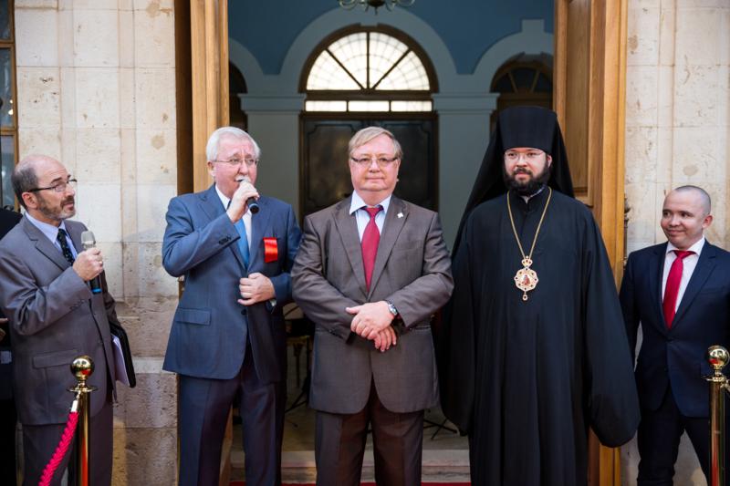 Открытие Сергиевского подворья в Иерусалиме
