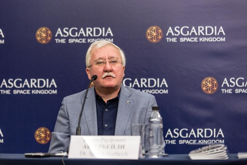 Игорь Ашурбейли на пресс-конференции рассказал об итогах года Асгардии