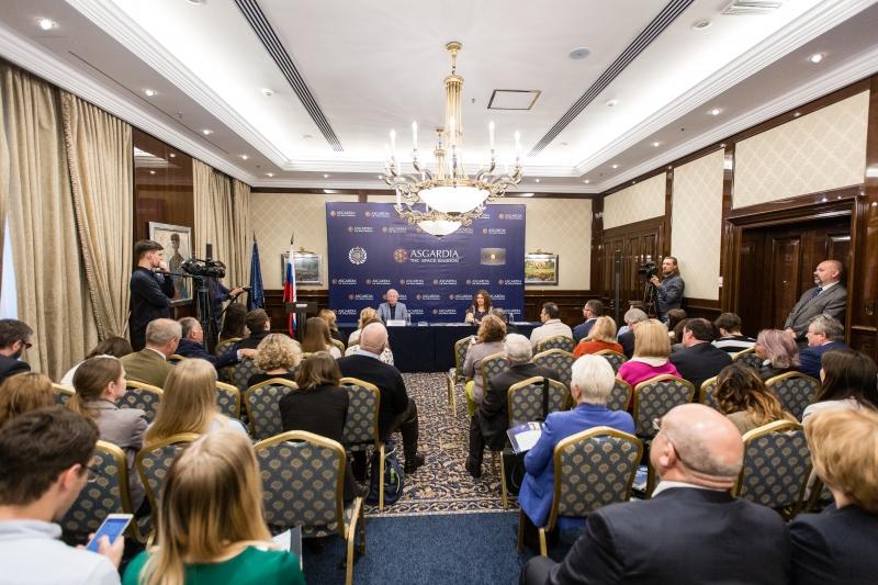12 октября 2017 года в Москве прошла пресс-конференция основателя Асгардии Игоря Ашурбейли