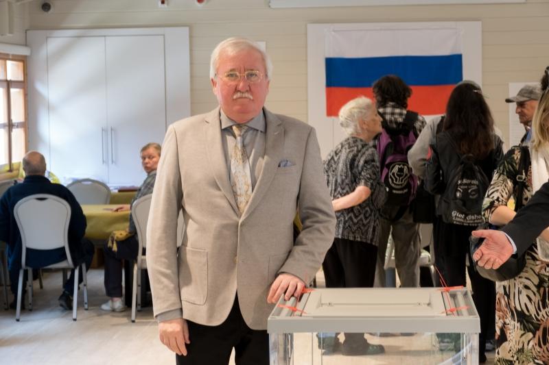 В организации выборов президента РФ на Сергиевском подворье принял участие Директор ИППО в государстве Израиль Игорь Ашурбейли