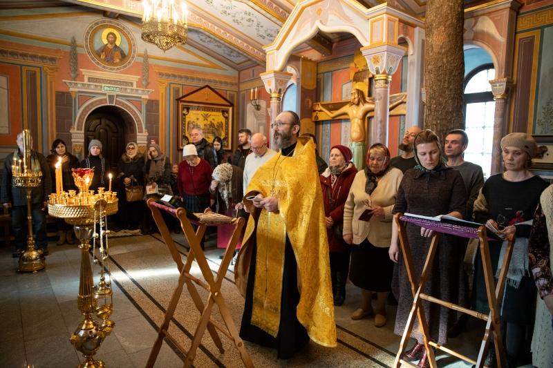 Молебен в честь преподобной мученицы Елисаветы в Обители Святой Елисаветы в Покровском-Стрешневе